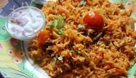 طريقة عمل الأرز بالخلطة بالسكر المحروق