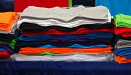 كيفية إزالة البقع من الملابس الملونة