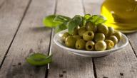 فوائد الزيتون الأخضر المر