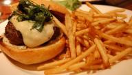 طريقة عمل برغر البطاطس