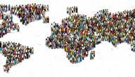 تقرير عن توزيع السكان