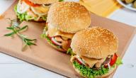 طريقة عمل ساندويش برغر بالجبنة