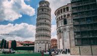 لماذا بني برج بيزا