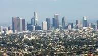 ما هي عاصمة لوس أنجلوس