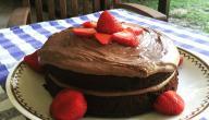 طريقة عمل كيكة هشة بالشوكولاته