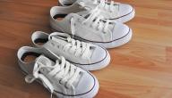 كيفية تنظيف حذاء أبيض