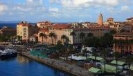ما هي عاصمة جزيرة كورسيكا في المتوسط