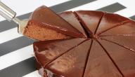 طريقة عمل كيكة فانيلا وشوكولاتة