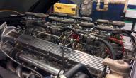 أجزاء المحرك الثابتة والمتحركة