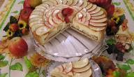 عمل فطيرة التفاح سهلة