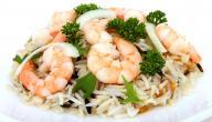 طريقة عمل أرز أبيض لذيذ