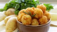 كبة البطاطا بالبرغل