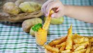 طريقة عمل صوص مع البطاطس المقلية