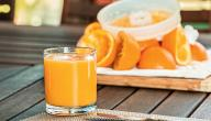 طريقة عمل عصير جزر بالبرتقال