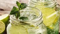 طريقة عمل عصير نعناع وليمون