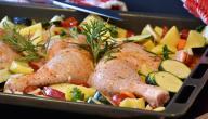 كيفية تبهير الدجاج المشوي