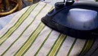 كيفية تنظيف الشمع من الملابس