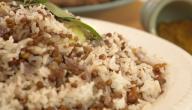 طريقة الرز بالعدس