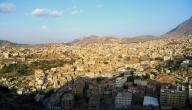 ما هي المدينة اليمنية التي يقع بها جبل صبر
