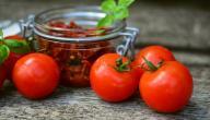 كيفية تجفيف الطماطم