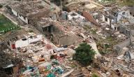 آثار الكوارث الطبيعية