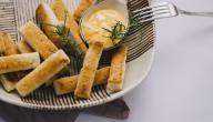 كيفية عمل أصابع الجبن