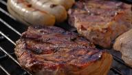 كيفية شواء اللحم