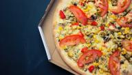 كيفية تحضير بيتزا عادية