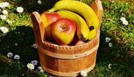 فوائد التفاح والموز
