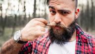 كيفية زيادة شعر الذقن والشارب