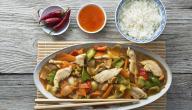 طريقة طبخ صينية الدجاج