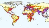 كيفية حساب الكثافة السكانية