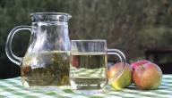 عمل عصير التفاح