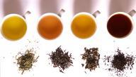 انواع الشاي
