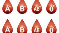 أنواع دم