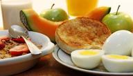 ما هو فطور الرجيم