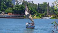 أين يقع نهر النيل