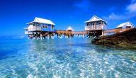 أين تقع جزر الكاريبي