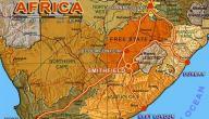 أين تقع بوتسوانا