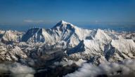 أين تقع جبال إفرست