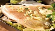 كيفية طبخ سمك الراية
