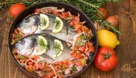 طرق طبخ السمك