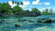 أين تقع جزر كارولين