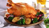 طريقة تحضير الدجاج المحمر