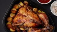 طريقة تحمير الدجاج