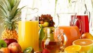 15 وصفة عصير صحية و لذيذة