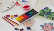 طريقة مزج الألوان