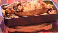 طريقة طهي البط