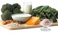 أهم مصادر الكالسيوم الغذائية