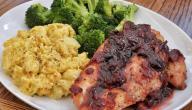 طريقة طبخ البروكلي مع الدجاج